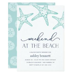 Aqua Starfish | Weekend at the Beach