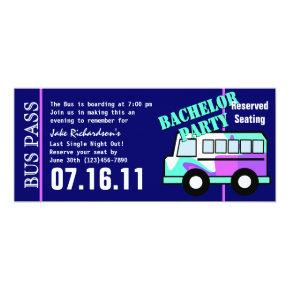 Bachelor Party Bus Pass
