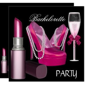Lipstick Pink Shoes Champagne