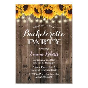 Rustic Sunflowers String Lights
