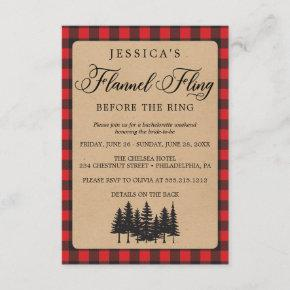 Weekend Itinerary Flannel Fling