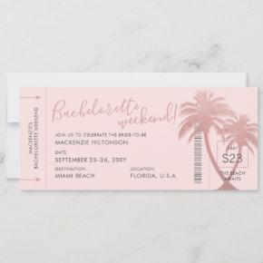 Beach  Weekend Boarding Pass Ticket