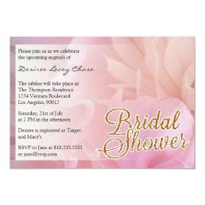Blush and Gold Bridal Shower