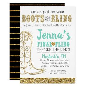 Boots and Bling Country Western Nashville Party