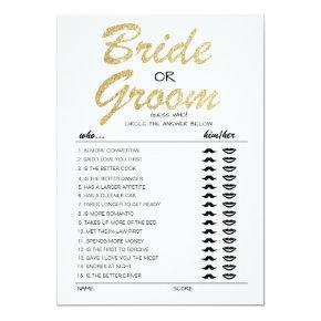 Bride or Groom game fully editable