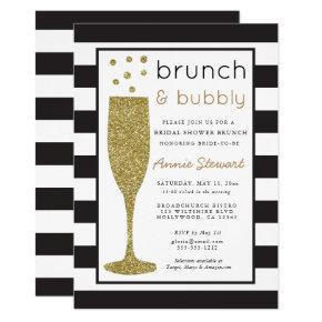 Brunch & Bubbly Bridal Shower  Glitter
