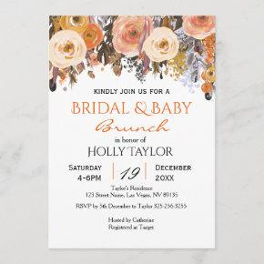 Combined Baby Shower and Bridal Shower Ideas
