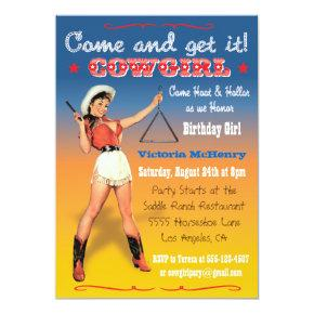 Cowgirl Western Birthday Party