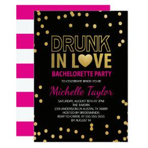 Drunk Bachelorette Invitation