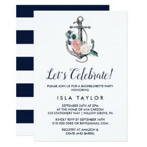 Floral Anchor | Summer Let's Celebrate