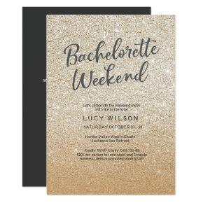 Glitter Gold  Weekend