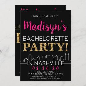 Gold Nashville  Itinerary and