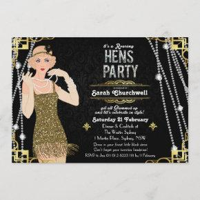 Great Gatsby Flapper Girl Hens Party