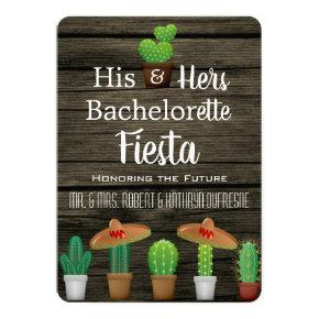 His & Hers Bachelor/ Fiesta