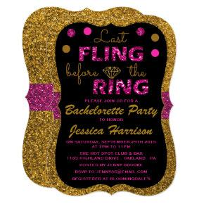 Last Fling Before The Ring -