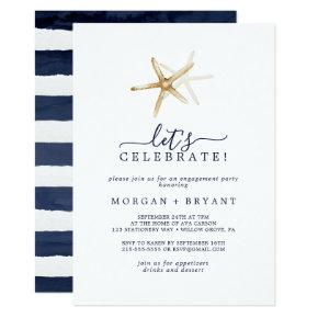 Modern Nautical | Starfish Let's Celebrate