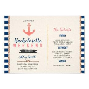 Nautical  Itinerary party