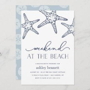 Navy Starfish | Weekend at the Beach