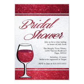 Red Wine Tasting Bridal Shower