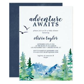 Rocky Mountain Adventure Awaits Baby Shower