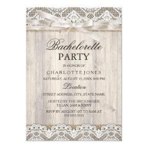 Rustic Vintage Lace & Wood