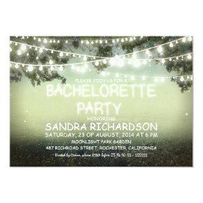 sparkling string lights  INVITES