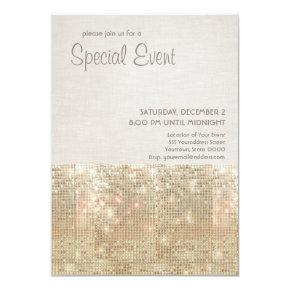 Sparkly Gold Sequins Festive Party