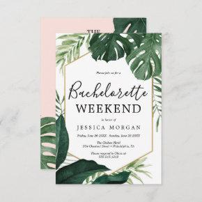 Tropical Monstera  Invite