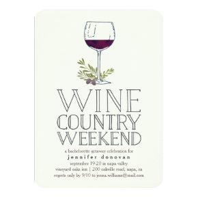 Wine Country Weekend Getaway