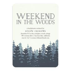 Winter Forest Weekend Getaway